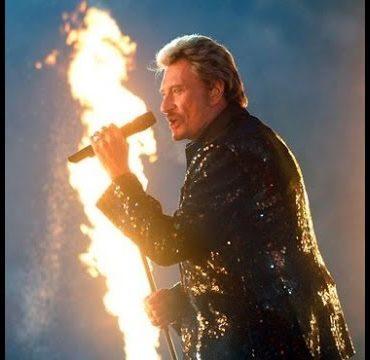 Johnny Hallyday allumer le feu